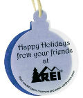 Personalized Seeded Christmas Ornaments